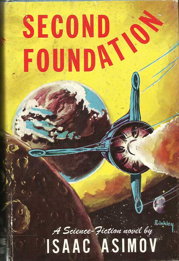 a report on the writing style of isaac asimov and his novel foundation